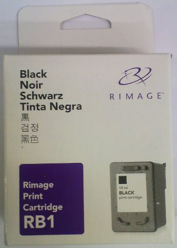 kazeta Rimage RB1 360i/480i/2000i black