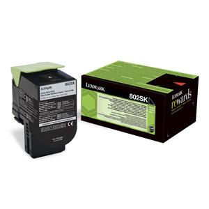 Toner Lexmark CX310/CX410/CX510 802K BLACK 1K