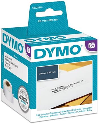 rolka DYMO 99010 Standard Adress Labels 89x28mm (2ks)