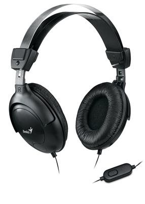 Genius headset - HS-M505X (sluchátka + mikrofón), 3,5mm single jack