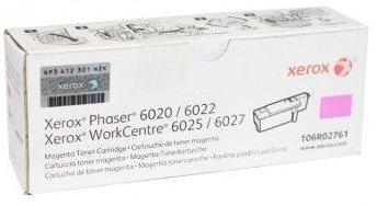 toner XEROX 106R02761 magenta PHASER 6020/6022, WorkCentre 6025/6027