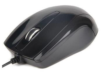 myš GEMBIRD optická, čierna, 1000 DPI, USB