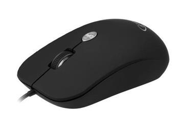 myš GEMBIRD optická, čierna, 1600 DPI, USB