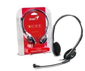 Slúchadlá s mikrofónom Genius headset - HS-M200C, single jack
