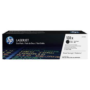 TONER HP CF210XD, Dual pack, HP131X čierny, 2x2400str.
