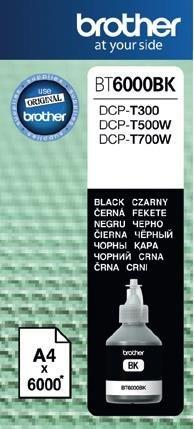 atramentová náplň BROTHER BT-6000BK Black DCP-T300/T500W/T700W
