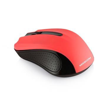 Myš Modecom WM9 1200 DPI, bezdrôtová optická Black - Red