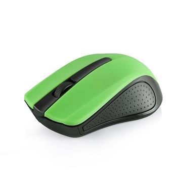 Myš Modecom WM9 1200 DPI, bezdrôtová optická Black - Green