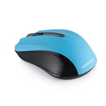 Myš Modecom WM9 1200 DPI, bezdrôtová optická Black - Blue