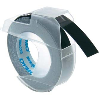 páska DYMO 3D Black Tape (9mm)