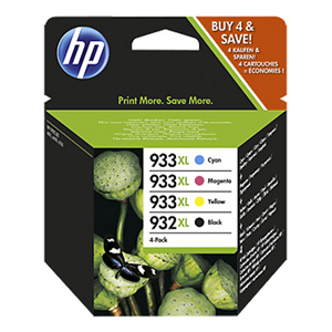 KAZETA HP C2P42AE 4-pack No.932XL+933XL čierna, azúrová, purpurová, žltá