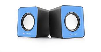 Reproduktory Modecom Logic 2.0 LS-09 2x 3W BLUE modré