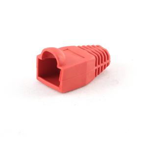 plastová krytka pre konektor RJ45, červená, 1ks, CABLEXPERT