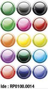 etikety RAYFILM STICKERS - nálepky guľôčky (motív B) 75ks/5 listov *RP01000014J