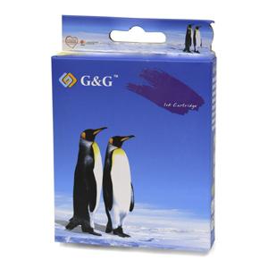 kazeta G&G pre Brother LC1100Y/LC1100HY/LC980Y DCP-145C / DCP-163C / DCP-165C / DCP-167C / DCP-195C (10,6ml/Y)
