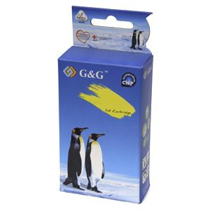kazeta G&G pre Brother LC1240/LC1280C MFC-J5910DW / MFC-J6510DW / MFC-J6710DW / MFC-J6910DW (17ml/C)