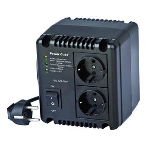 Automatický regulátor a stabilizátor napätia ENERGENIE, LED, 220V AC, 500VA