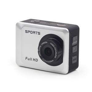 Akčná kamera, Full HD, prenosná, vodeodolný obal, GEMBIRD