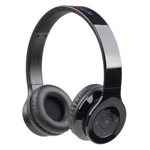 Bluetooth stereo headset Berlin, čierna, GEMBIRD
