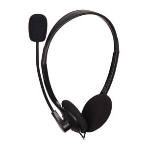Stereo headset MHS-123, čierny, GEMBIRD