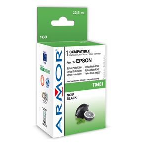 kazeta ARMOR EPSON Stylus R200/R300/RX500/RX600 black (T048140)