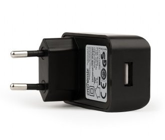 univerz�lna USB nab�ja�ka ENERGENIE 220V/USB, 2.1 A, �ierna