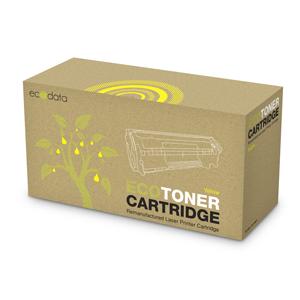 TONER Ecodata HP CC532A/CE412A/CF382A/Canon CRG-718, Yellow, 2800 str.