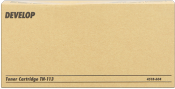 toner DEVELOP TN113 black Ineo 160, DI 1610, D 16G