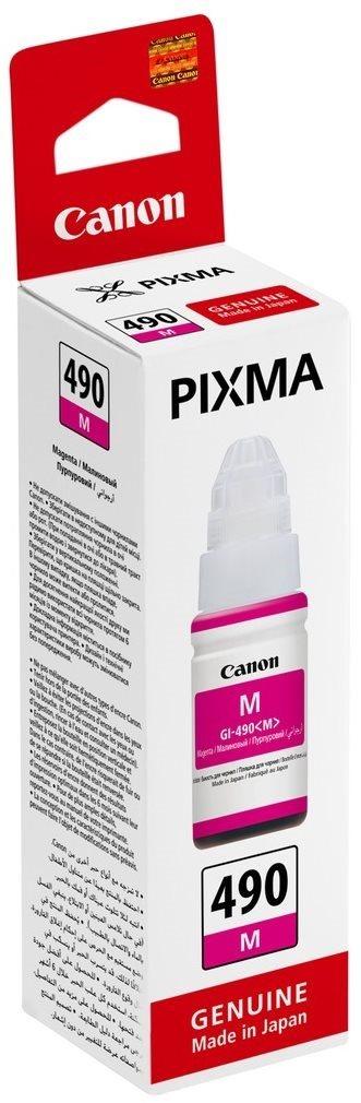 atramentová náplň CANON GI-490M magenta PIXMA G1400/G2400/G3400