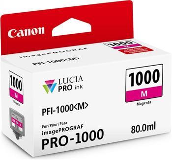 kazeta CANON PFI-1000M Magenta iPF PRO-1000