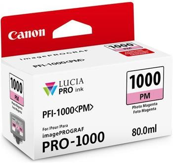 kazeta CANON PFI-1000PM Photo Magenta iPF PRO-1000