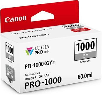 kazeta CANON PFI-1000GY Gray iPF PRO-1000