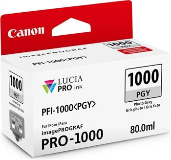 kazeta CANON PFI-1000PGY Photo Gray iPF PRO-1000
