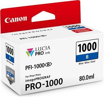kazeta CANON PFI-1000B Blue iPF PRO-1000