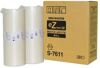 master RISO S-7611 eZ-Type 30 EZ200/201/220/230/231/300/301/330 (2ks v bal.)