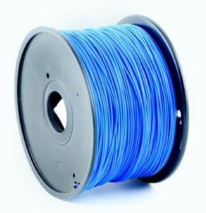 ABS plastic filament pre 3D tlač, priemer 1,75mm, farba modrá, Gembird