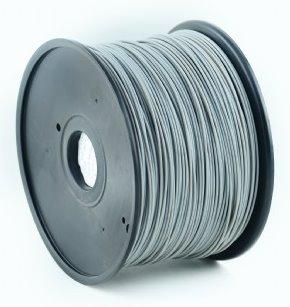 ABS plastic filament pre 3D tlač, priemer 1,75mm, farba šedá, Gembird
