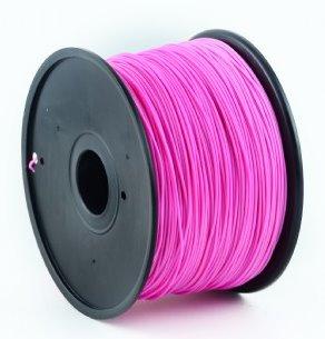 HIPS plastic filament pre 3D tlač, priemer 1,75mm, farba purpurová (magenta), Gembird