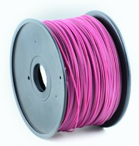 HIPS plastic filament pre 3D tlač, priemer 1,75mm, farba gaštanová (maroon), Gembird
