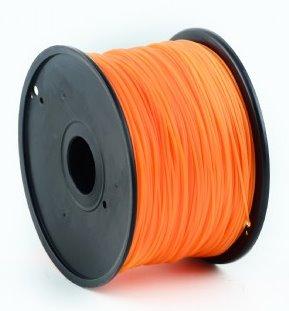 HIPS plastic filament pre 3D tlač, priemer 1,75mm, farba oranžová, Gembird