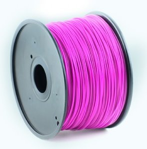 HIPS plastic filament pre 3D tlač, priemer 1,75mm, farba fialová, Gembird