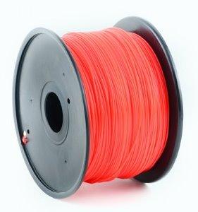 HIPS plastic filament pre 3D tlač, priemer 1,75mm, farba červená, Gembird