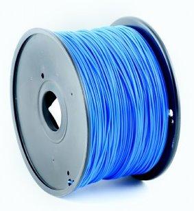 PLA plastic filament pre 3D tlač, priemer 1,75mm, farba modrá, Gembird