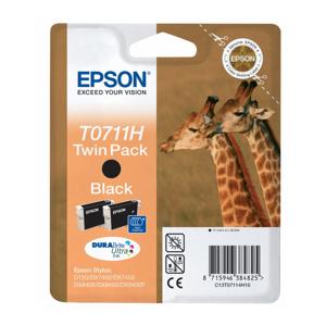 kazeta EPSON C13T07114H10 black 2-pack