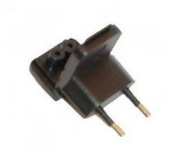 Adapter, Power Plug, Euro (Use with 4004-0849)