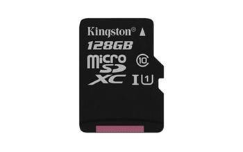 Pamäťová karta Kingston microSDXC 128GB Class 10 UHS-I (bez adaptéra)