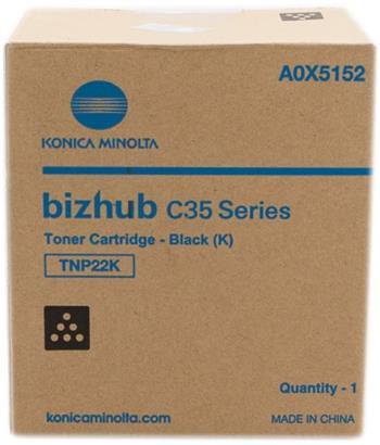 toner MINOLTA TNP22K black Bizhub C35/C35P