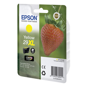 kazeta EPSON 29XL Claria Yellow