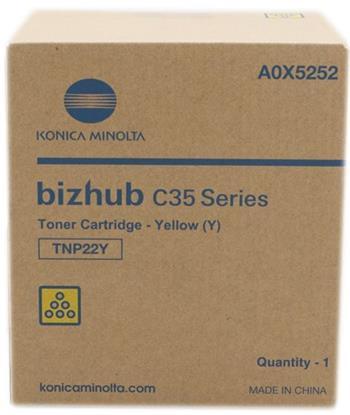 toner MINOLTA TNP22Y yellow Bizhub C35/C35P