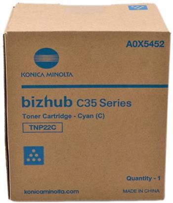 toner MINOLTA TNP22C cyan Bizhub C35/C35P